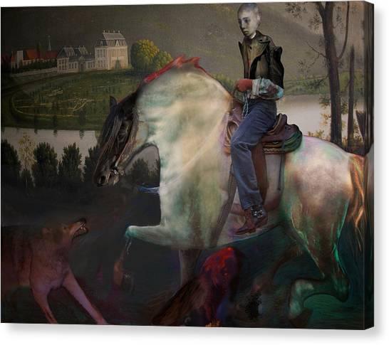 The Dream 1 Canvas Print by Henriette Tuer lund
