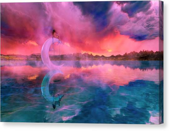 Escape Canvas Print - The Dreamery II by Betsy Knapp