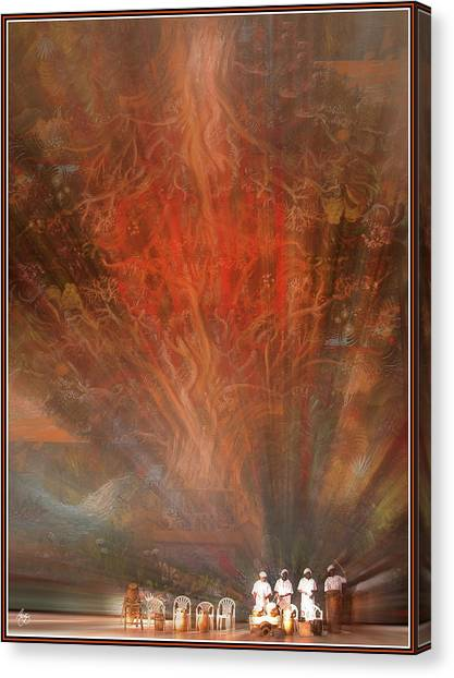 The Drumbeat Rising Canvas Print
