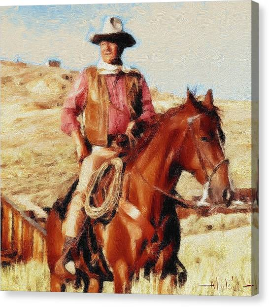 The Duke Canvas Print