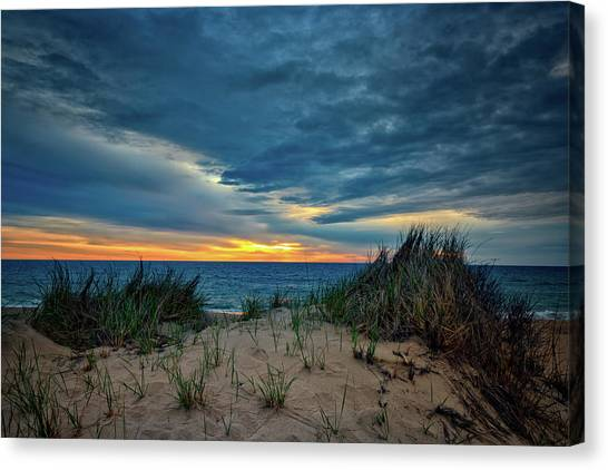 Coast Guard Canvas Print - The Dunes On Cape Cod by Rick Berk
