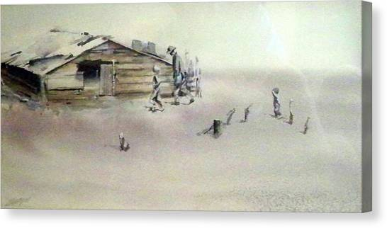 The Dustbowl Canvas Print