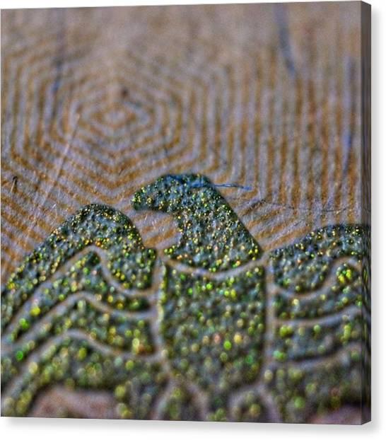 Detail Canvas Print - The Eagle Has Landed. $20 Bill Yo by David Haskett II