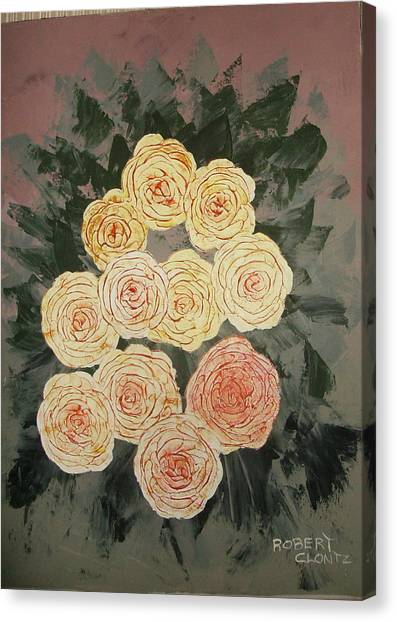 The Early Work Of Robert Clontz Canvas Print by Anne-Elizabeth Whiteway