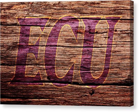 East Carolina University Ecu Canvas Print - The East Carolina Pirates by Brian Reaves