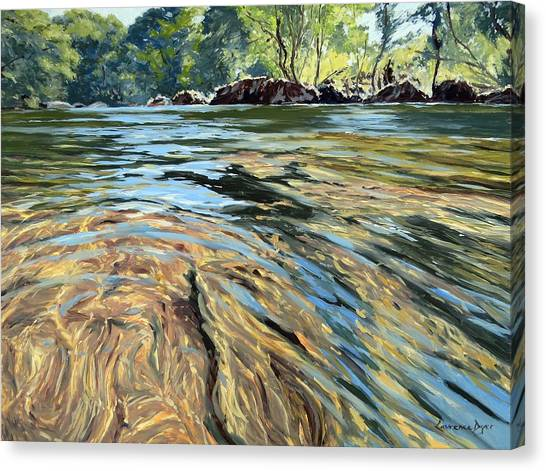 The East Dart River Dartmoor Canvas Print