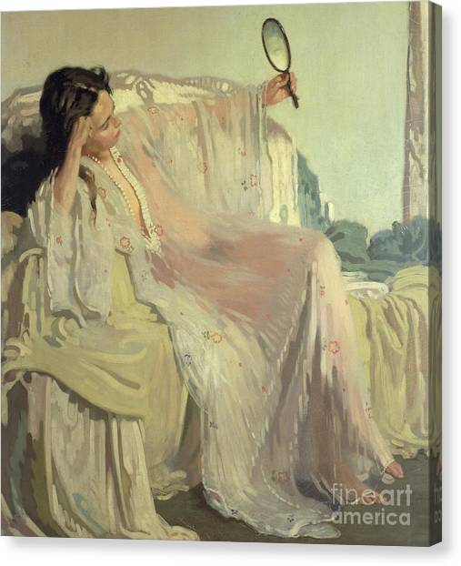 Nightgown Canvas Print - The Eastern Gown by Sir William Orpen
