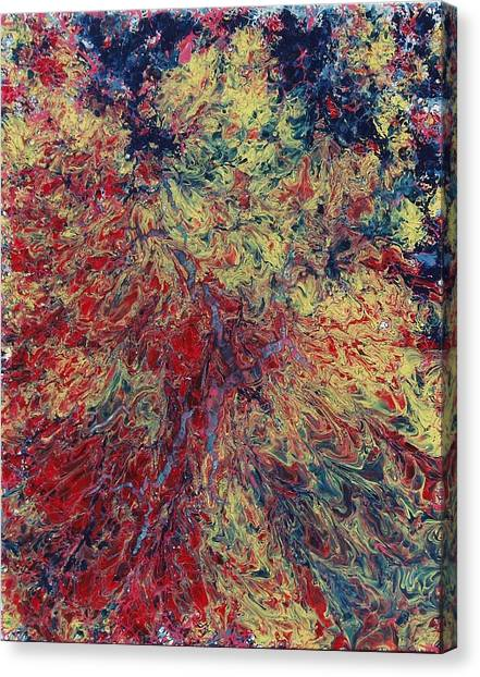 The Ecstasy Of Fire In Water Canvas Print