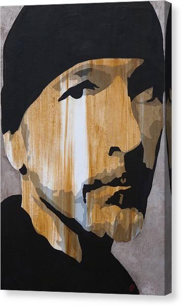 U2 Canvas Print - The Edge by Brad Jensen