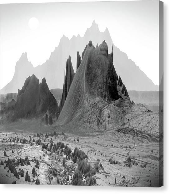 Southwest Canvas Print - The Edge by Mike McGlothlen