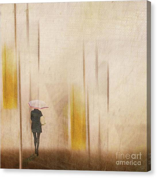 The Edge Of Autumn Canvas Print