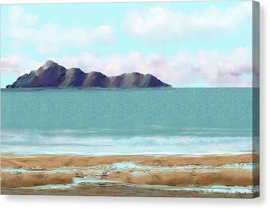 The Edge Canvas Print by Tony Rodriguez