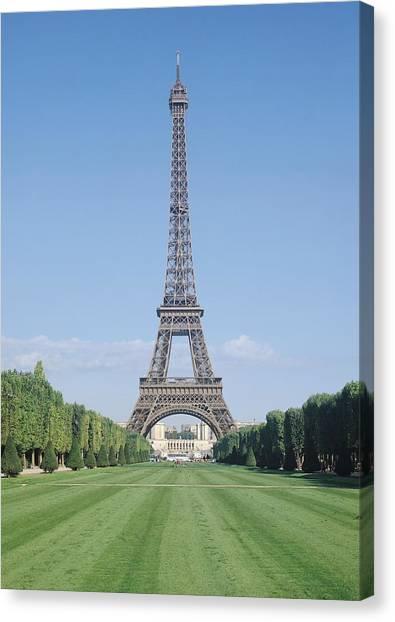 Parisian Canvas Print - The Eiffel Tower by French School