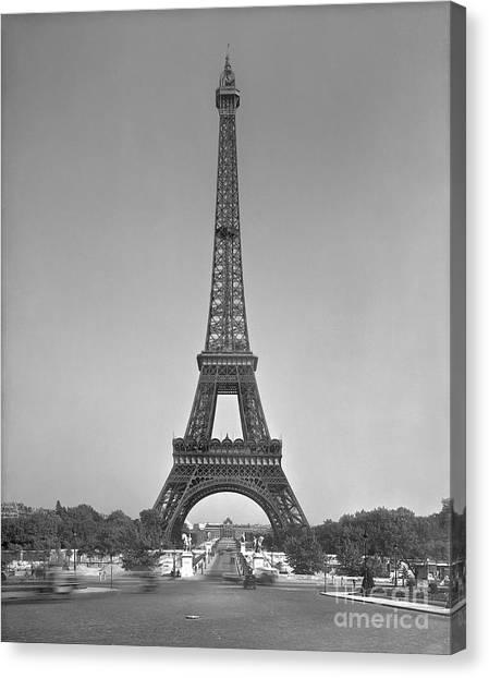 Parisian Canvas Print - The Eiffel Tower by Gustave Eiffel