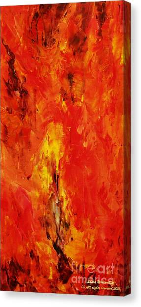 The Elements Fire #1 Canvas Print