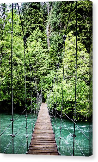 The Emerald Crossing Canvas Print