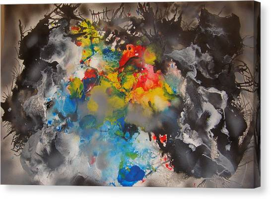 The Emergence Of Color Canvas Print