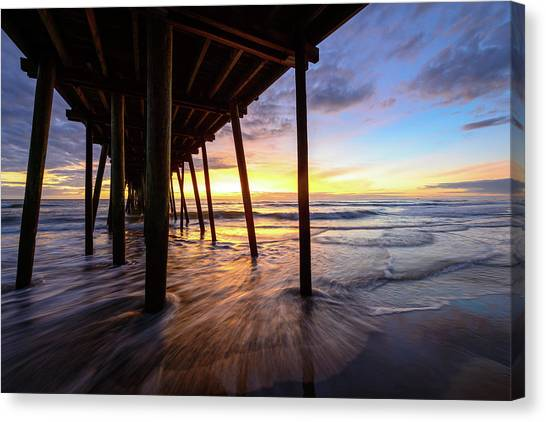 The Enchanted Pier Canvas Print