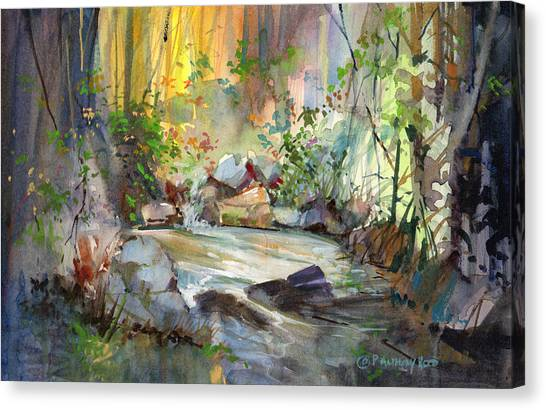 The Enchanted Pool Canvas Print