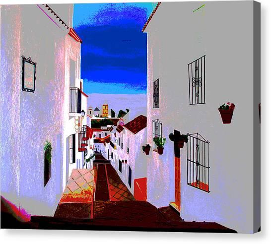 The Enchanted Village Of Mijas Canvas Print
