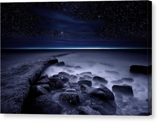 The End Of Darkness Canvas Print