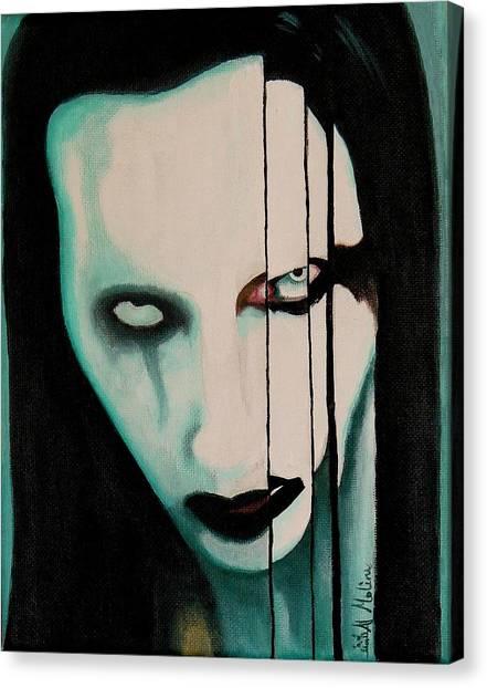 The Enigma Marilyn Canvas Print by Al  Molina