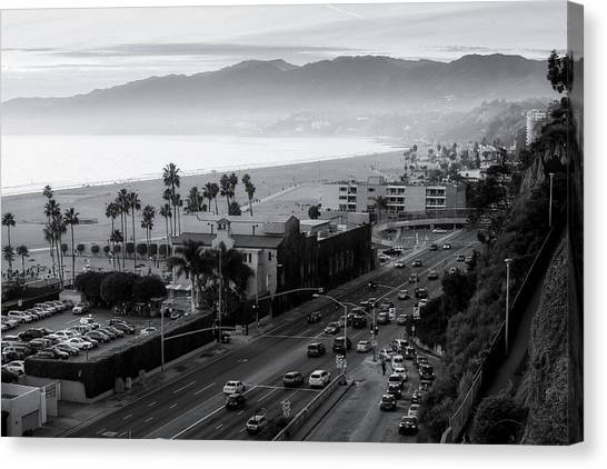 The Evening Drive Home Canvas Print