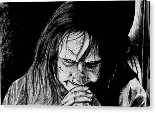 The Exorcist Canvas Print - The Exorcist by Maye Loeser