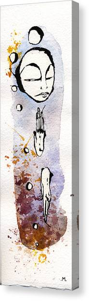 The Expression Four Canvas Print by Mark M  Mellon
