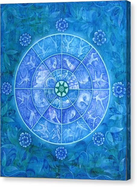 The Eye Of Kanaloha Canvas Print by Hiske Tas Bain