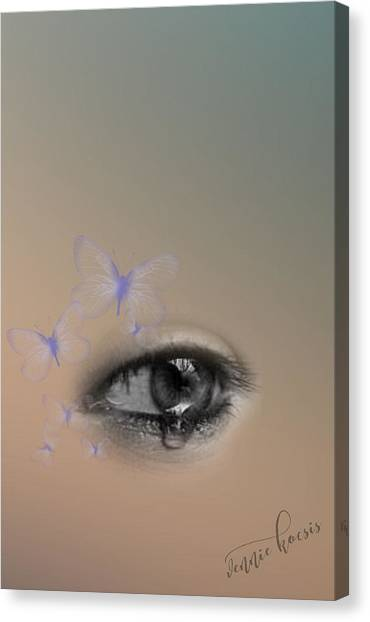 The Eyes Don't Lie Canvas Print