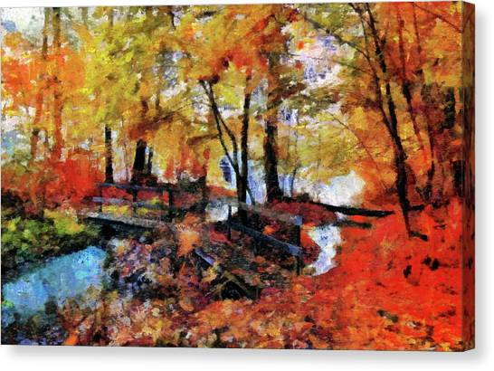 The Failing Colors Of Autumn Canvas Print