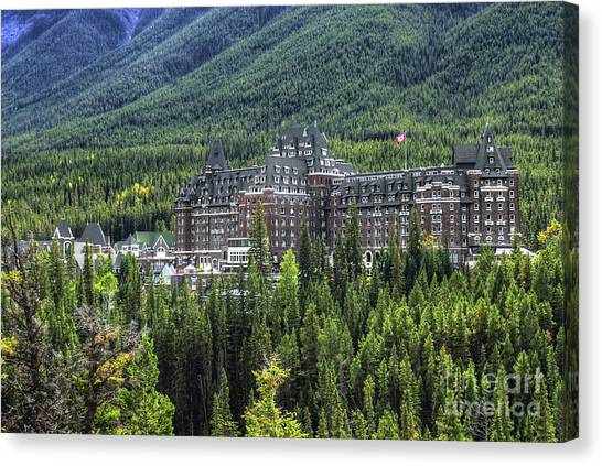 The Fairmont Banff Springs Canvas Print