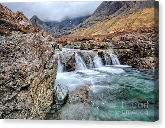 Fairy Canvas Print - The Fairy Falls by Smart Aviation