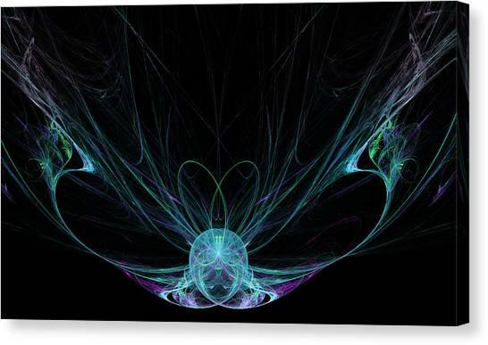 Etherial Canvas Print - The Fairy by Ricky Barnard