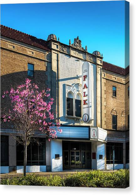 University Of Florida Canvas Print - The Falk Theater by Marvin Spates
