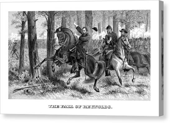 South American Canvas Print - The Fall Of Reynolds - Civil War by War Is Hell Store