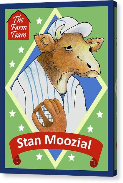 The Farm Team - Stan Moozial Canvas Print