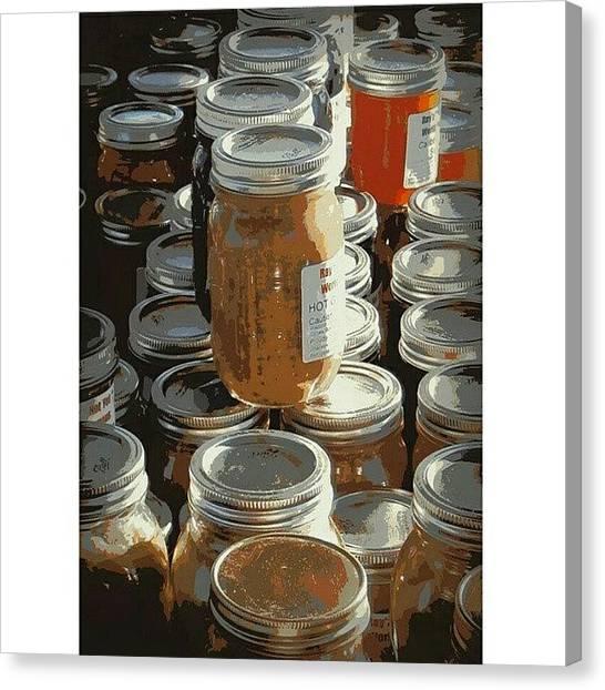 Healthy Canvas Print - The Farmers by Karyn Robinson