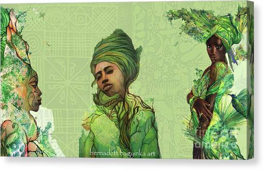 The Fauns Canvas Print