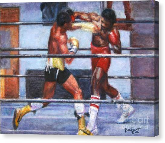 Sylvester Stallone Canvas Print - The Favor - Rocky 3 by Bill Pruitt