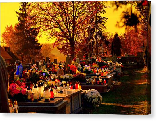 The Feast Of The Dead Canvas Print