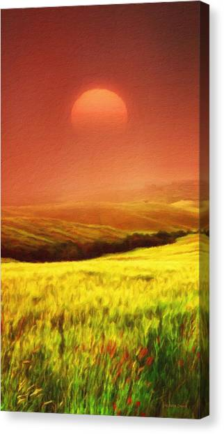 The Fields Canvas Print