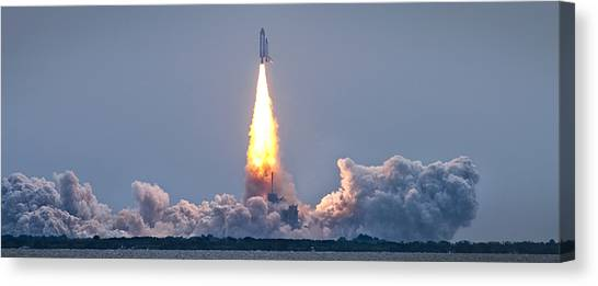 Space Ships Canvas Print - The Final Voyage by Ryan Heffron