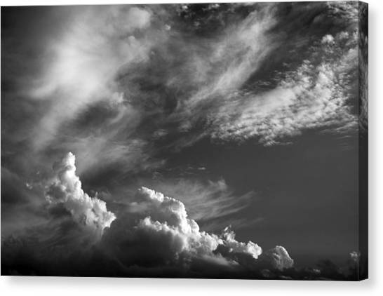 The Fine Art Of Clouds Canvas Print by Jim  Darnall