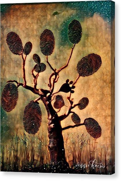 The Fingerprints Of Time Canvas Print