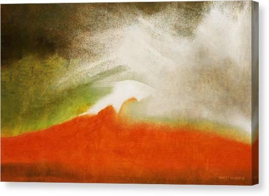The Fire Mountain - Cotapaxi Canvas Print