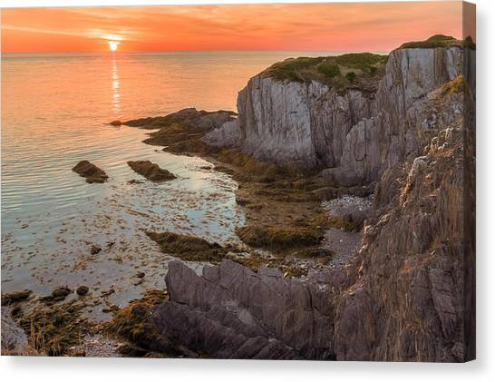 Nova Scotian Sunset Canvas Print