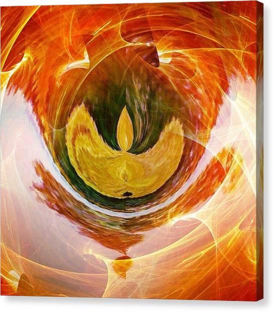 Contemporary Art Canvas Print - The Firebird by Contemporary Art