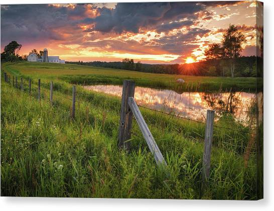 The First Of Summer Canvas Print